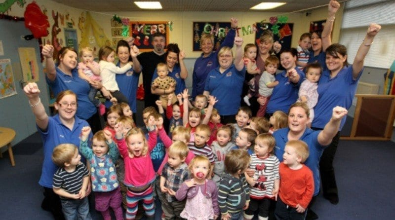 Nursery receives 'Outstanding' from Ofsted
