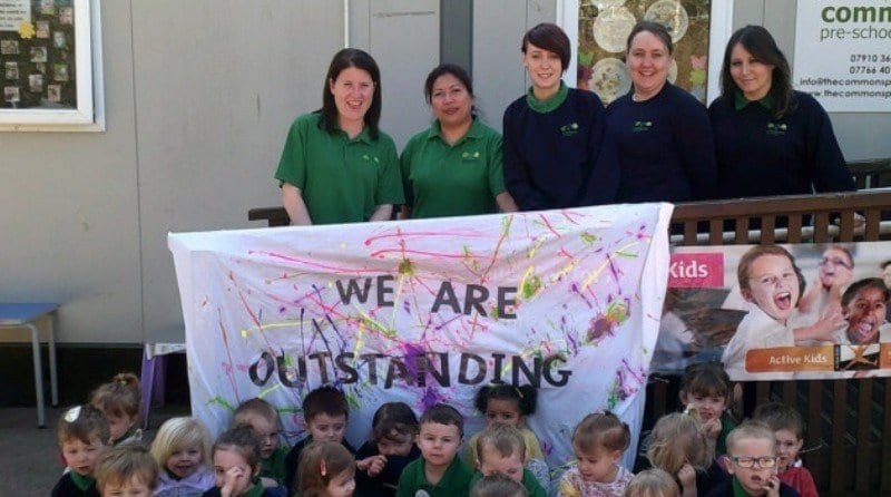 Pre-school 'outstanding' again