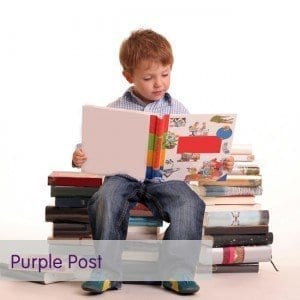 purple post