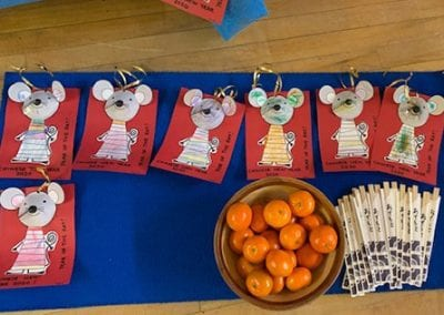 Chinese New Year Cards made by the children 2020
