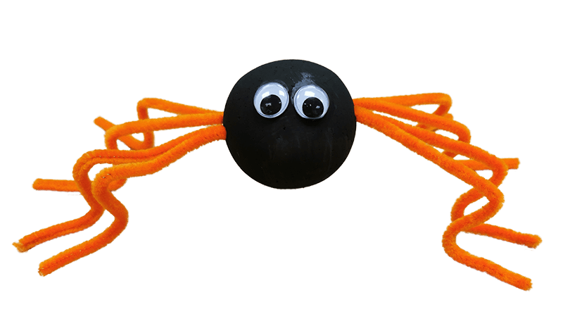 Fred The Friendly Halloween Spider Craft