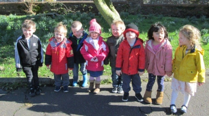 Pre-school has a spring in its step