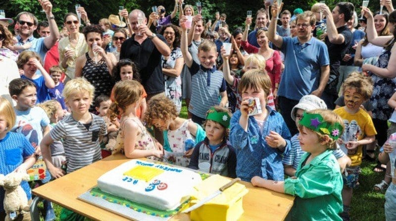 Cambridge nursery celebrates their 50-year anniversary with party