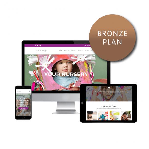 Bronze Website Plan