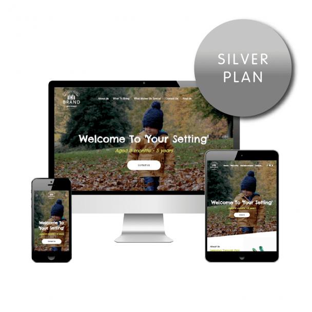 Silver Website Plan - Childminder