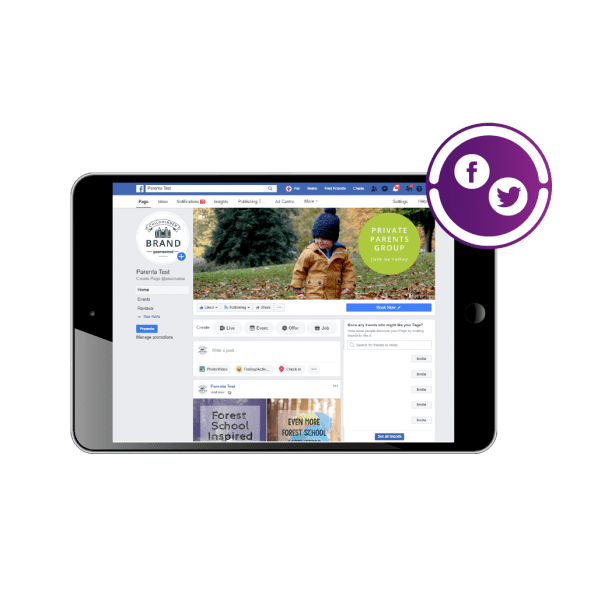 Childminder Social Media Set-up