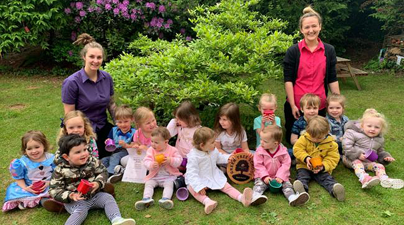 Gold award for Prenton nursery for eco-friendly thinking