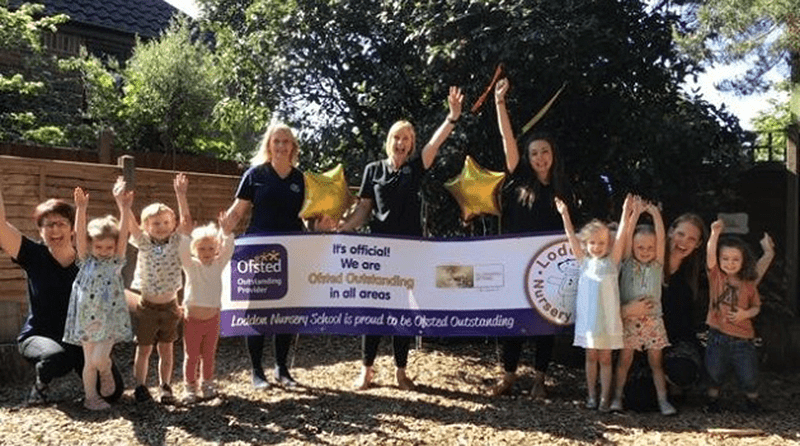 """Norfolk nursery """"outstanding"""" by Ofsted"""