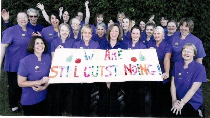 Apples & Pears Day Nursery and The Banana Out of School Club receive their second Ofsted 'outstanding'
