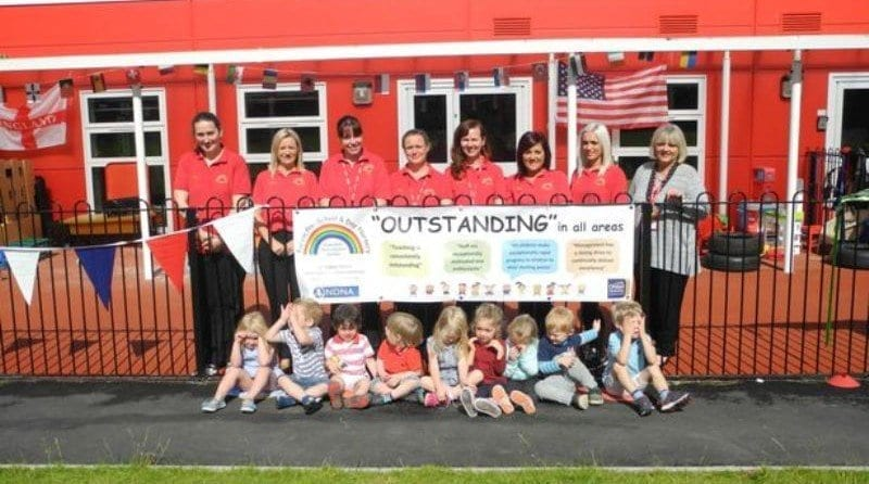 "Nursery celebrates ""outstanding"" result"
