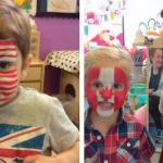 Olympic celebrations at Croydon nurseries