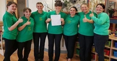Emerald Nursery staff await GCSE results