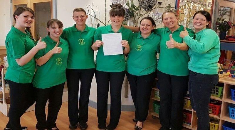 Emerald Nursery staff await GCSE results