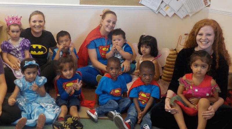 Nursery hosts charity fun day