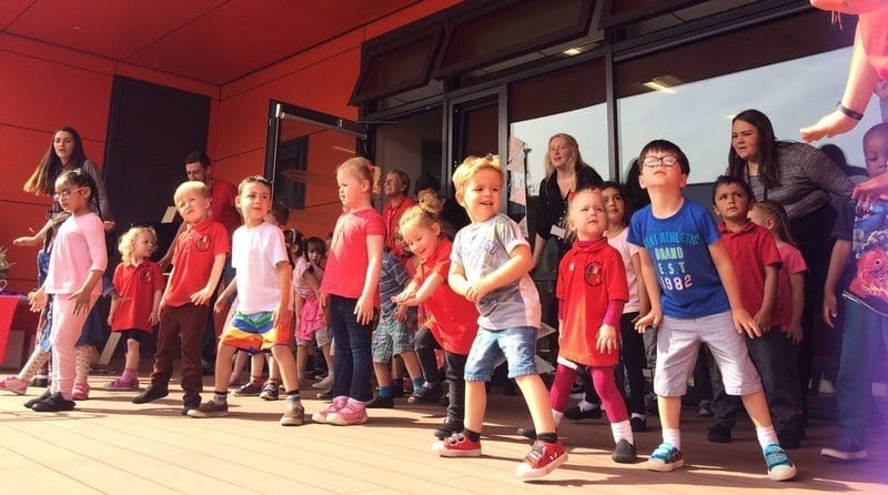 A new £2.7mil nursery opens in Glasgow