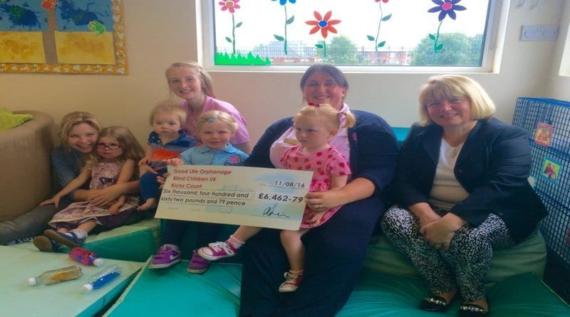 Nursery group manages to raise over £100,000 for more than 50 different charities