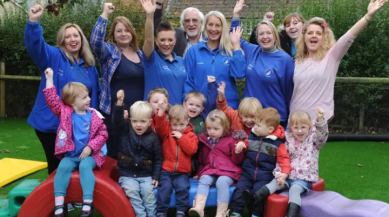 Pre-school rated 'outstanding'