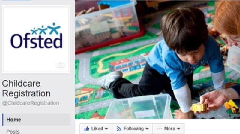 Ofsted launches Facebook for childminders