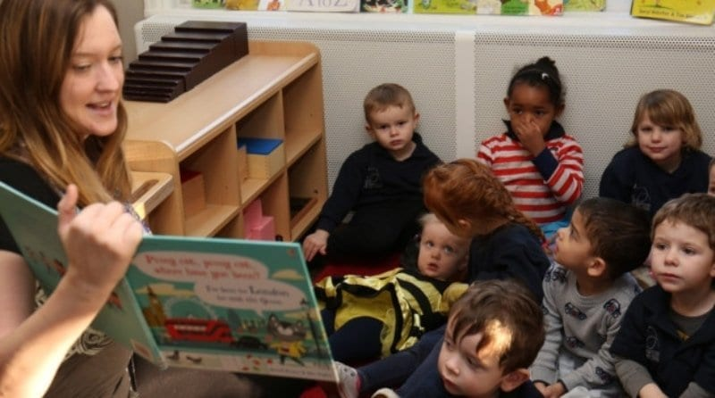 Nursery brings stories to life for children