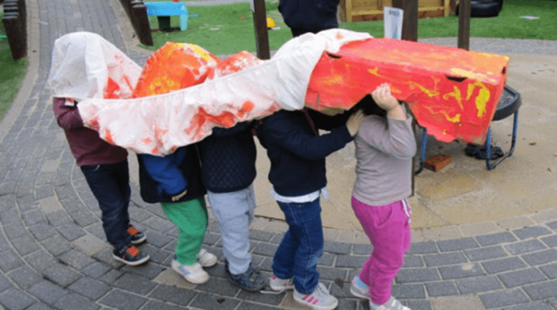Children celebrate special events at West Sussex nursery