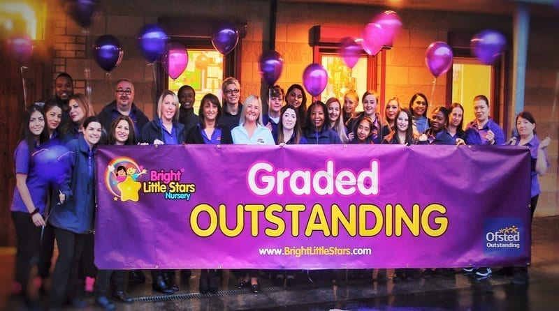 Bright Little Stars Mill Hill is graded 'Outstanding' in all areas