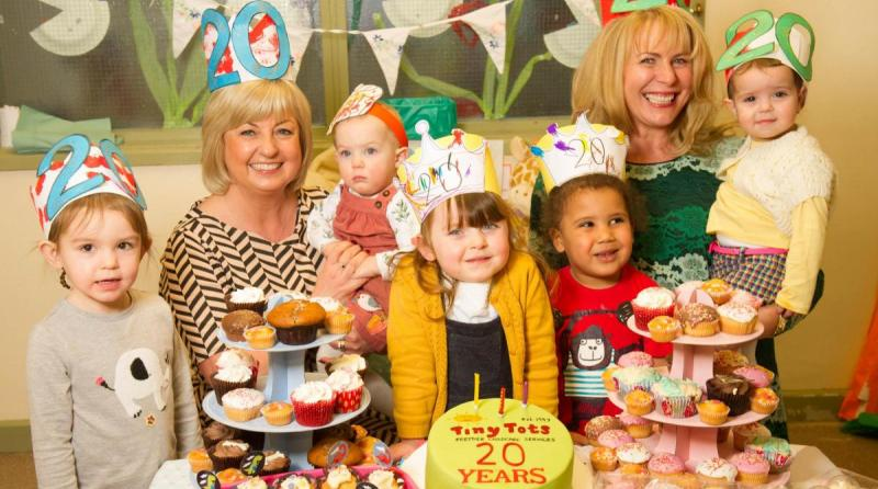 Nursery celebrates 20 year anniversary with charity party