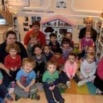 Tiny Town nursery celebrates outstanding Ofsted rating