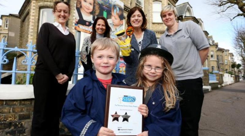 Nursery awarded for supporting sustainable travel
