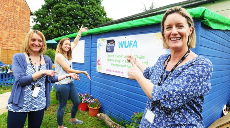 Woodstock Under-Fives Association receives glowing Ofsted report