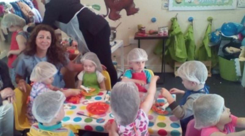 Generous nursery feeds London's homeless