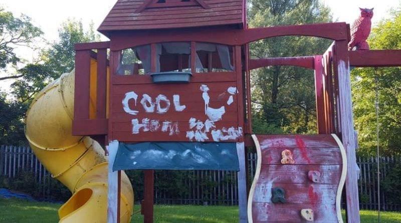 Vandals target nursery garden