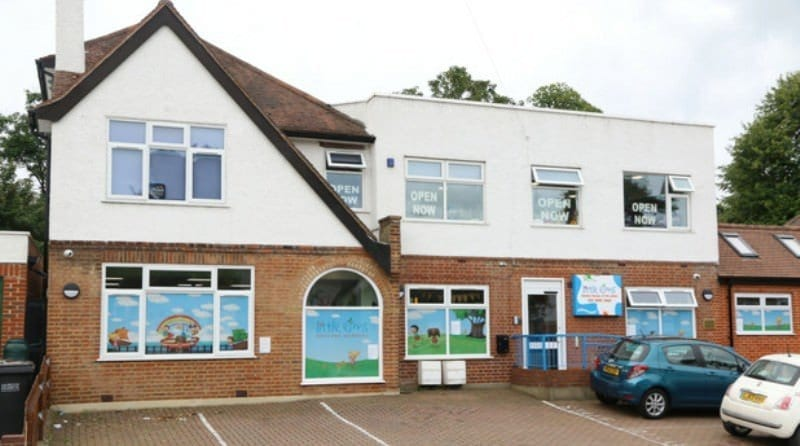 Croydon nursery changing nappies where food is stored