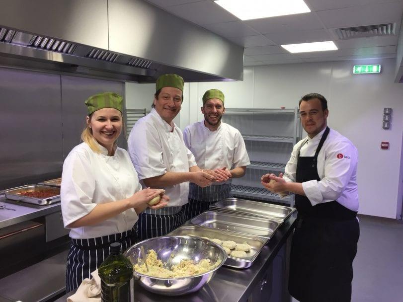 The Professional Nursery Kitchen chefs