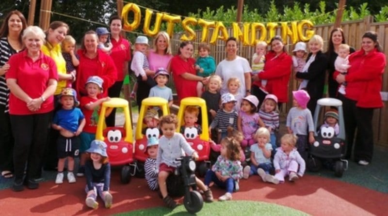 Surrey nursery rated 'outstanding' by Ofsted