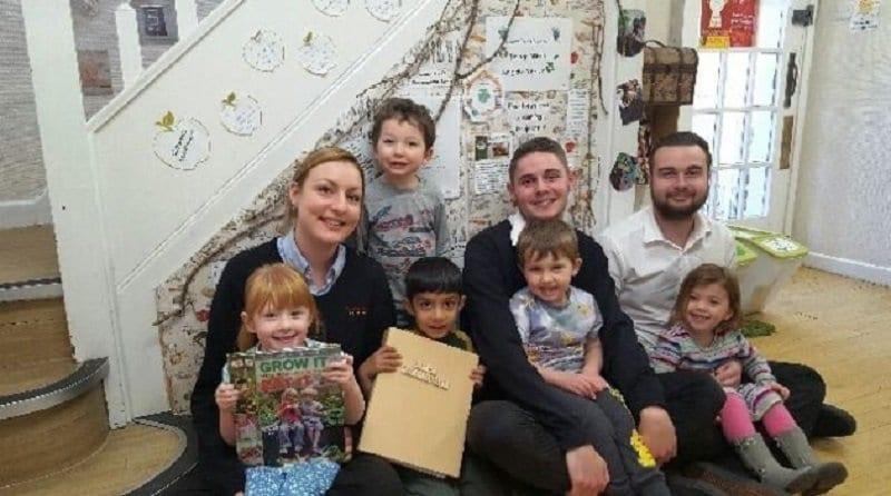 Hertfordshire nursery receives top environmental award