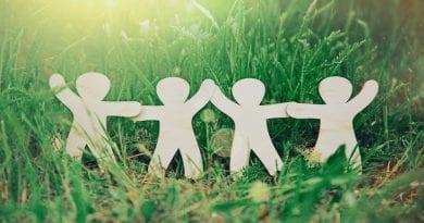 Holding hands - teamwork