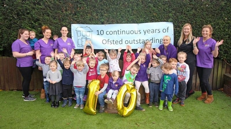Granby Nursery rated in top one percent of nurseries in the county
