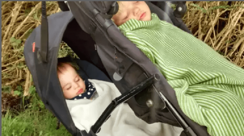 Outdoor naps at Paddock Cottage Childcare