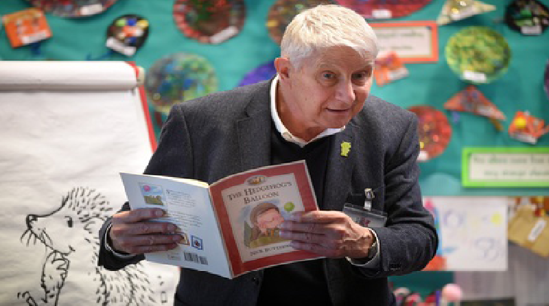 Author of 'Percy the Park Keeper' opens nursery