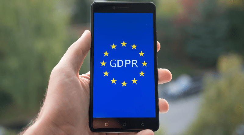 Processing personal data under the new GDPR regulations
