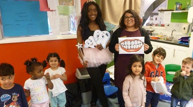 Dentist visits Boys & Girls Nursery Stanmore & Boys & Girls Nursery Watford