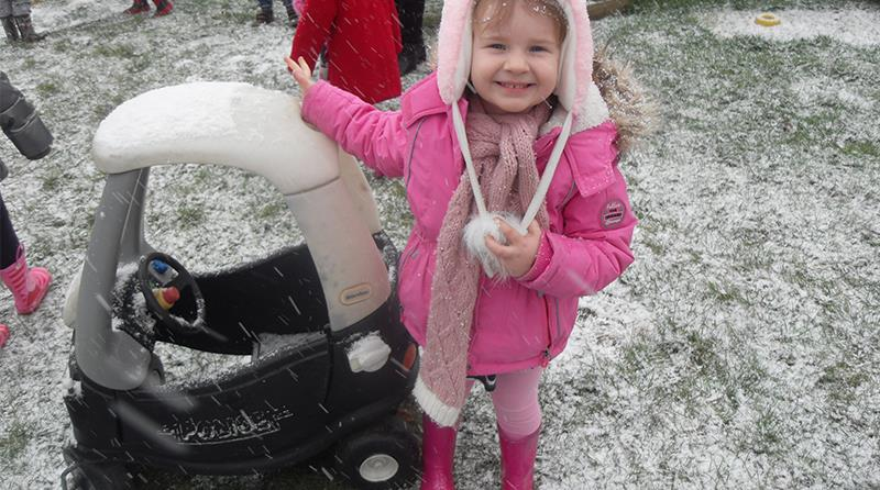 There's snow stopping staff at Early Years Care & Education Ltd