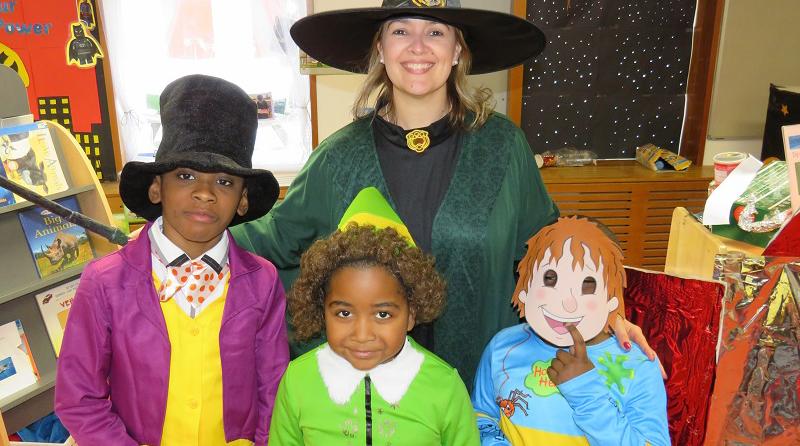 Children in Southwark celebrate World Book Day