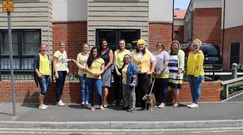 Forest Holme – Wear it Yellow Day!