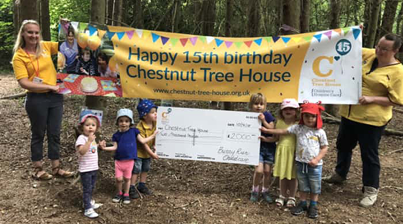 East Sussex nursery raises £2,000 for children's hospice