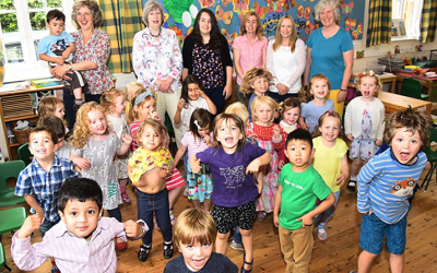 Parents' determination brings pre-school closure to a standstill
