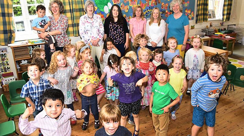 Parents' determination brings pre-school closure to a standstill