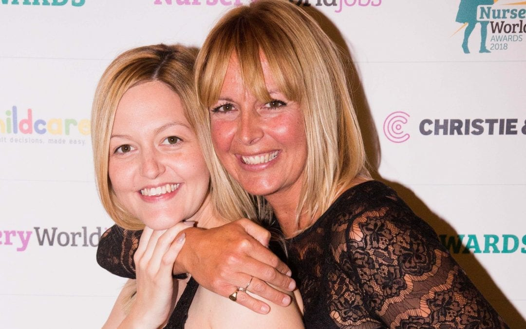 Success for Pebbles Childcare at Nursery World Awards