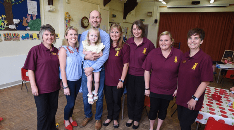 Nursery staff honoured with award after saving three-year-old
