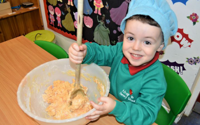 Ashgrove Nursery School pupils raise money to go towards mental health programme